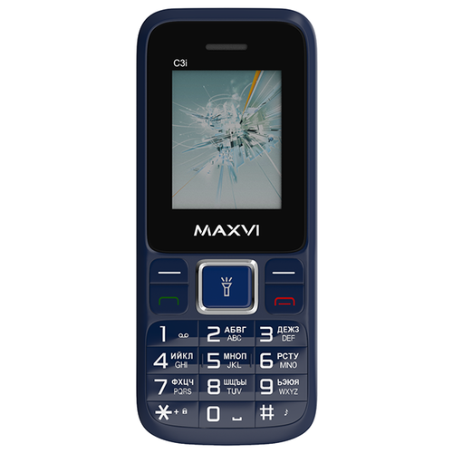 Телефон MAXVI C3i маренго