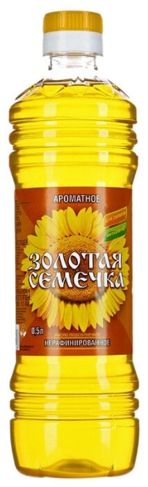 Золотая Семечка Масло подсолнечное