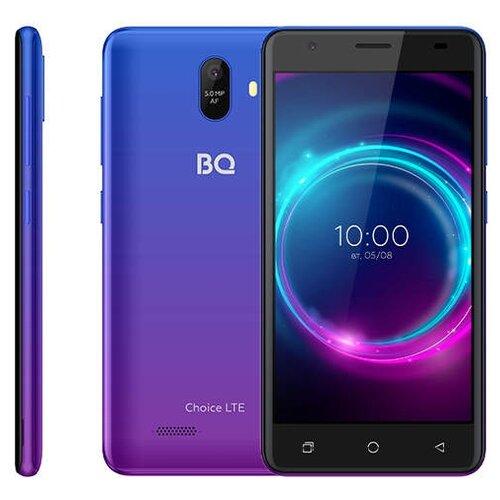Смартфон BQ 5046L Choice LTE, ultra violet смартфон bq mobile bq 5046l choice lte ultraviolet