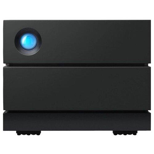 Фото - Внешний HDD Lacie 2big RAID 4 ТБ, черный бинокль konus basic 10x25 черный серый