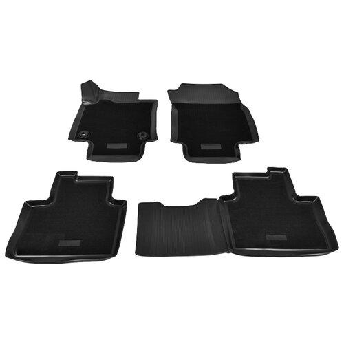 Комплект ковриков NorPlast NPA11-C88-711-CM Toyota RAV 4 4 шт. черный