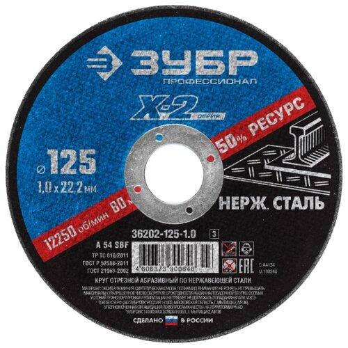 ЗУБР Профессионал X-2 36202-115-1.0_z03, 115 мм 1 шт.