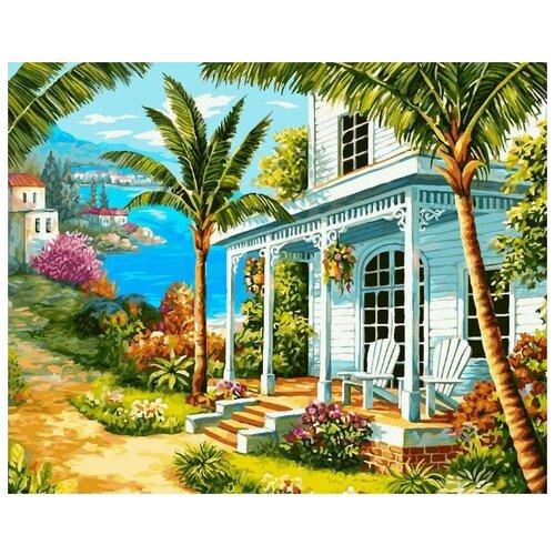 Купить Картина по номерам Фрея Райский уголок , 40x50 см, ФРЕЯ, Картины по номерам и контурам
