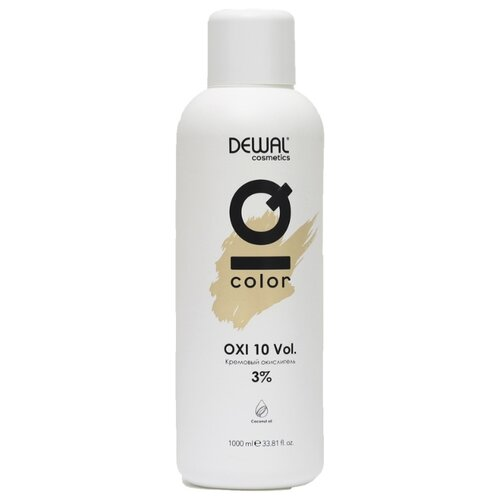 Купить Dewal Cosmetics IQ Color OXI Кремовый окислитель, 3%, 1000 мл