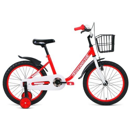 Детский велосипед FORWARD Barrio 18 (2020) красный (требует финальной сборки) el barrio úbeda