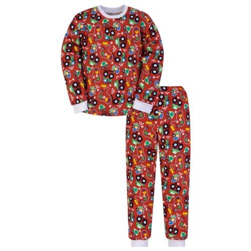 Пижама Утенок размер 110, красный по цене 450