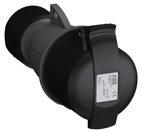 Розетка силовая (CEE) кабельная переносная ABB 2CMA102024R1000
