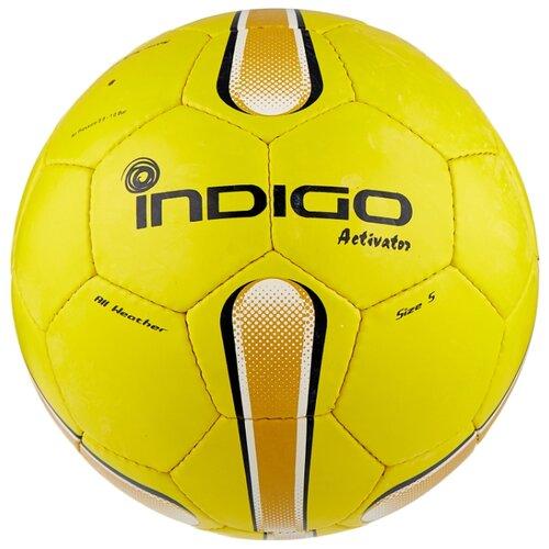 Футбольный мяч Indigo ACTIVATOR E00 желтый 5 коляска 3 в 1 indigo indigo 18 special f sp 12 белая кожа
