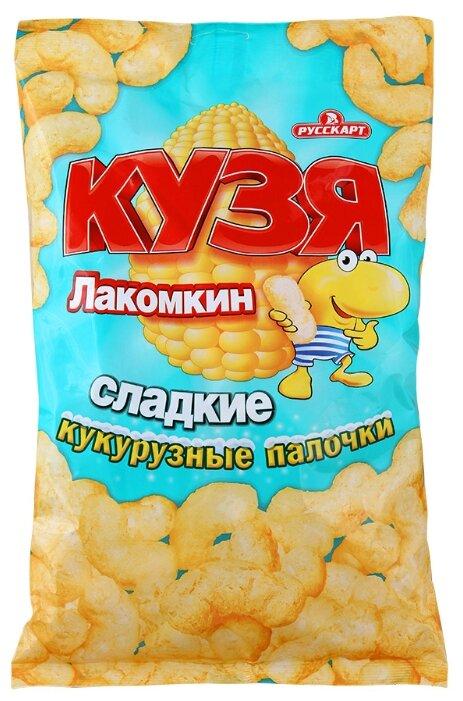 Кукурузные палочки Кузя Лакомкин сладкие 140 г
