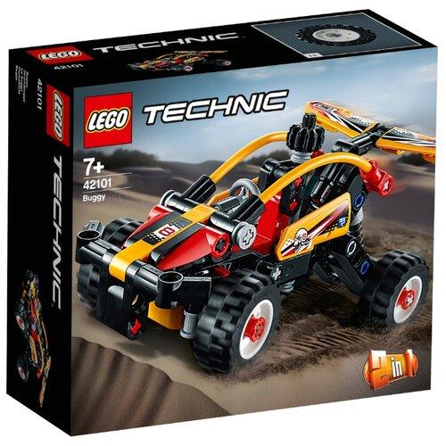 Конструктор LEGO Technic 42101 Багги lego конструктор lego technic 42080 лесозаготовительная машина