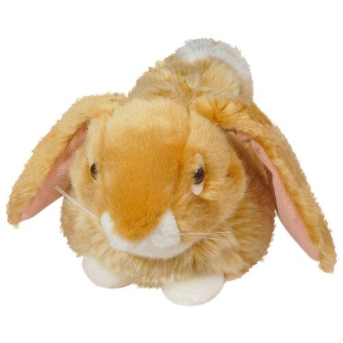 Мягкая игрушка Keel toys лежащий кролик 23 см, коричневый недорого