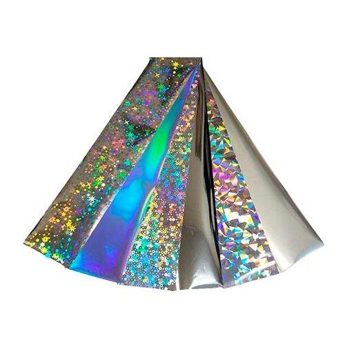 Купить Набор: фольга De.Lux Серебро серебристый