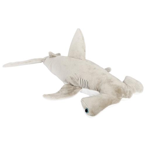 Мягкая игрушка Leosco Акула-молот серая 49 см