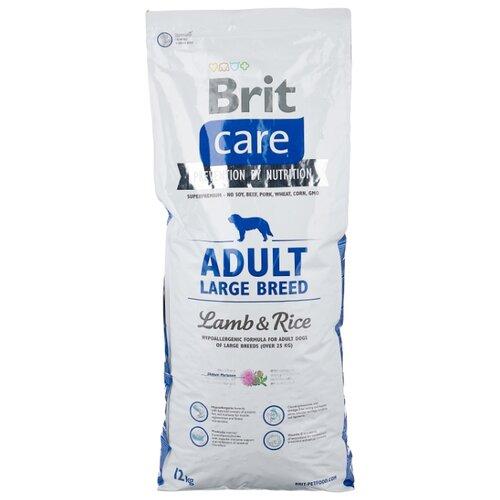 Сухой корм для собак Brit Care ягненок с рисом 12 кг (для крупных пород) mantra 4896