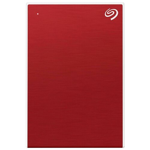 Фото - Внешний HDD Seagate Backup Plus Portable Drive 4 ТБ красный внешний hdd seagate backup plus slim portable drive 1 тб черный