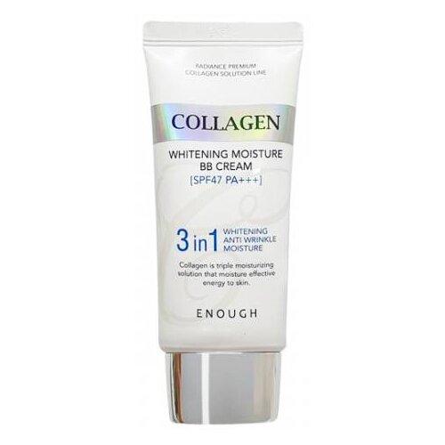 Enough Collagen 3 in1 Whitening Moisture BB крем с морским коллагеном SPF47 PA+++ 50г, SPF 46, 50 г collagen moisture foundation spf