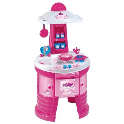 Купить Кухня Faro My Princess Sara 1556 розовый/белый/голубой, Детские кухни и бытовая техника