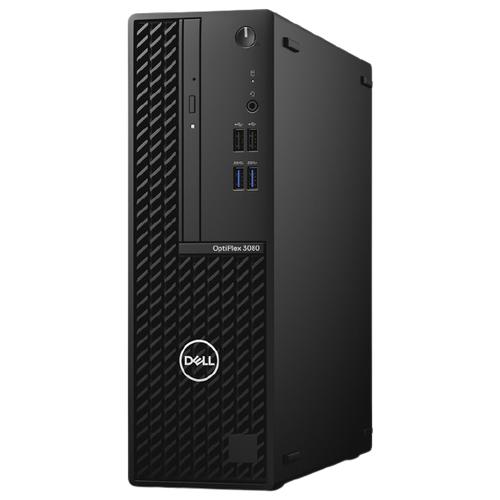 Настольный компьютер DELL OptiPlex 3080 SFF (3080-8488) Intel Core i3-10100/8 ГБ/256 ГБ SSD/Intel UHD Graphics 630/Linux черный