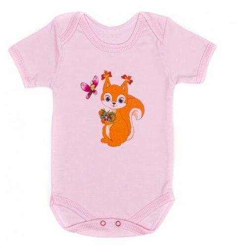 Купить Боди Babyglory размер 74, розовый