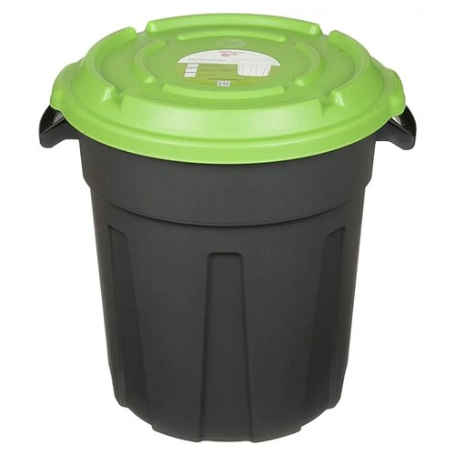 Бак InGreen ING6160, 60 л серый/зеленый