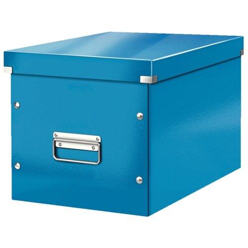 Купить Leitz Короб архивный Click & store WOW L А4, ламинированный картон синий, Файлы и папки