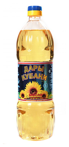 Дары Кубани Масло подсолнечное рафинированное дезодорированное
