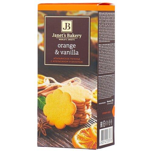 Фото - Печенье Janet's Bakery итальянское с апельсином и ванилью, 130 г традиционное итальянское печенье falcone кантуччи с фисташками и лимонной цедрой 180 г