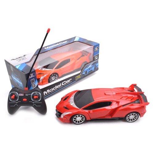 Купить Гоночная машина BJL BJL005 1:16 28 см красный, Радиоуправляемые игрушки