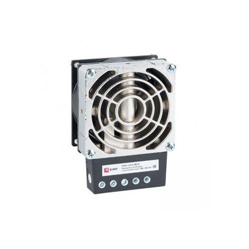 Обогреватель EKF heater-vent-q-150-20 черный/серебристый