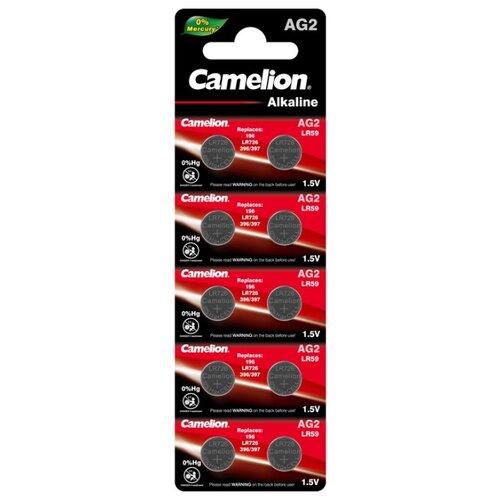 Фото - Батарейка Camelion AG2, 10 шт. батарейка camelion lr23a 1 шт