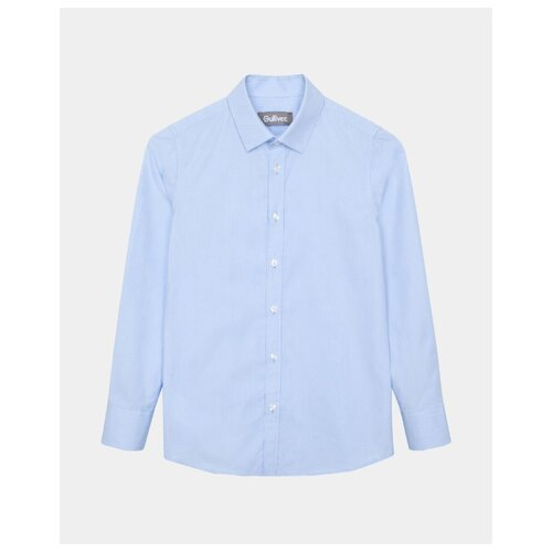 Купить Рубашка Gulliver размер 128, голубой, Рубашки