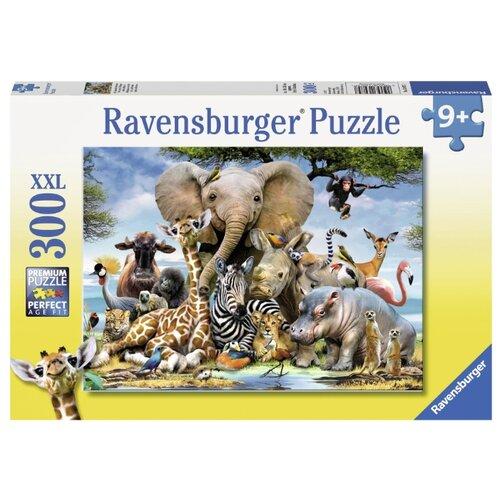 Купить Пазл Ravensburger XXL Африканские друзья (13075), 300 дет., Пазлы