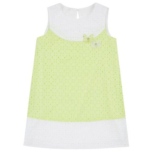 Купить Платье Leader Kids Летний день размер 98, салатовый, Платья и сарафаны