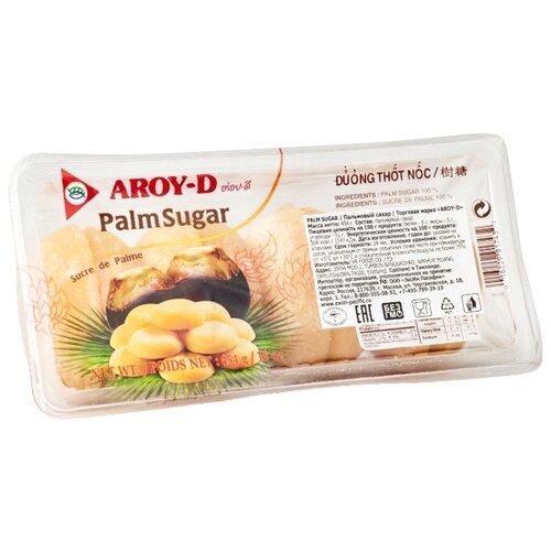 Сахар Aroy-D пальмовый 0.454 кг сливки aroy d кокосовые 70