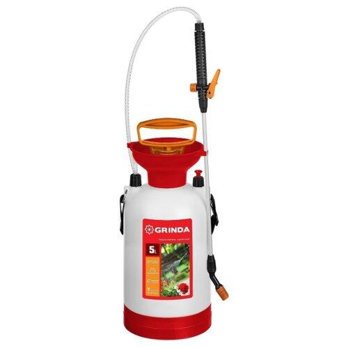 Опрыскиватель GRINDA TS-5 Aqua Spray 5 л белый/красный/черный