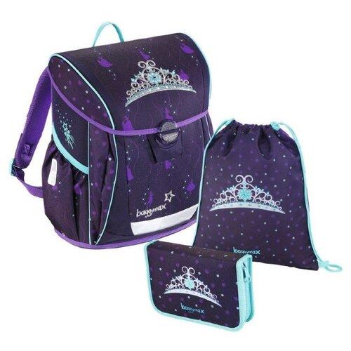 цена на Step By Step Ранец BaggyMax Fabby Crown 3 предмета (1135812), фиолетовый