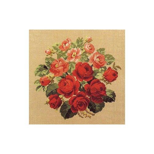 Купить Набор для вышивания Розы 42 х 42 см 70-5143, Permin, Наборы для вышивания