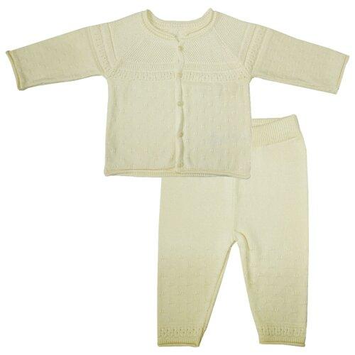 Купить Комплект одежды Папитто размер 80, бежевый, Комплекты