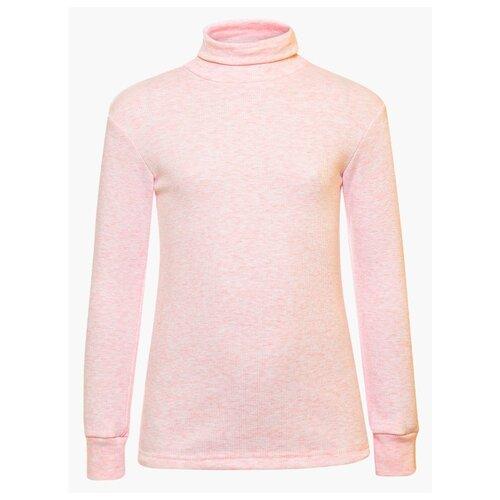Купить Водолазка M&D размер 134, розовый, Свитеры и кардиганы