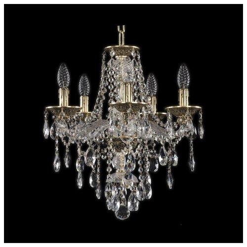Люстра Bohemia Ivele Crystal Ivele Crystal 16115/5/141 GB, E14, 200 Вт абажур bohemia ivele sh22