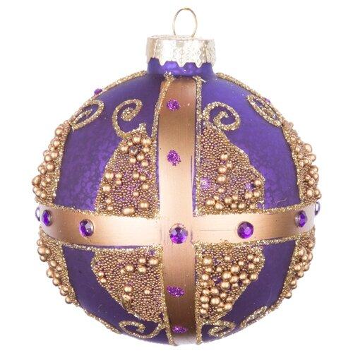 Набор шаров KARLSBACH 07262, фиолетовый/золотой