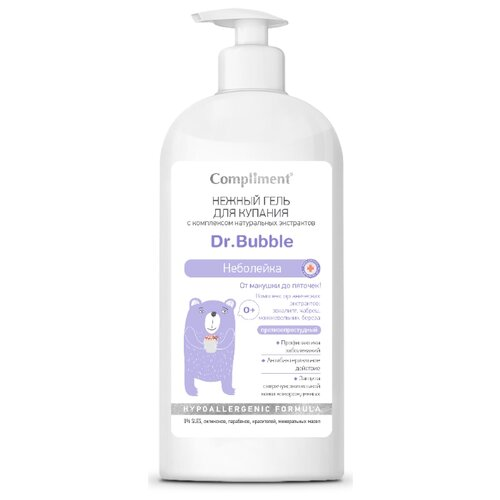 Compliment Dr. Bubble Гель для купания Неболейка 400 мл