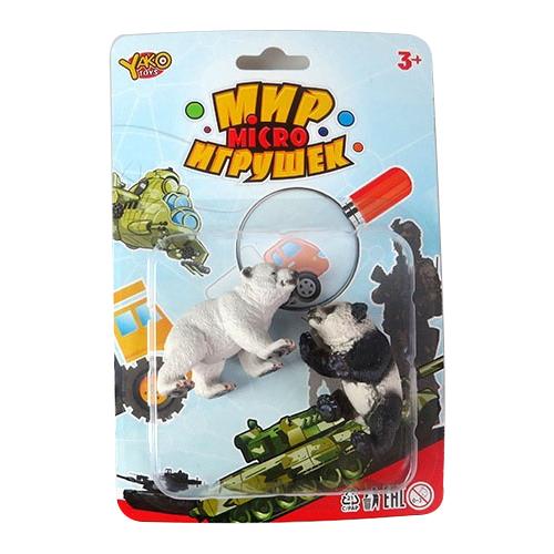 Купить Фигурки Yako Мир игрушек Micro Животные M8833, Игровые наборы и фигурки