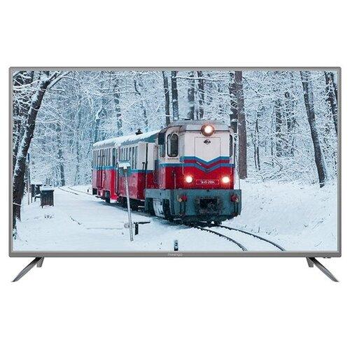 Фото - Телевизор Prestigio 43 Top 43 (2019) серебристый кеды мужские vans ua sk8 mid цвет белый va3wm3vp3 размер 9 5 43
