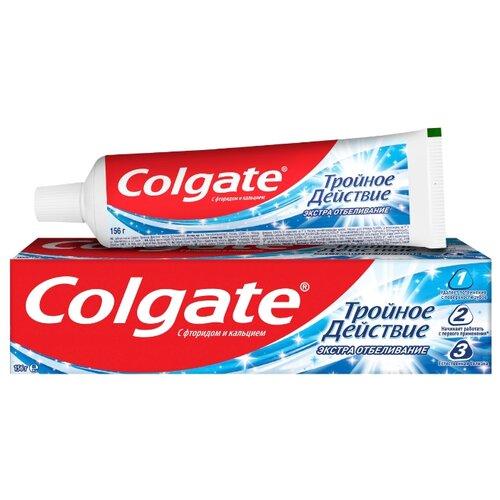 Купить Зубная паста Colgate Тройное Действие Экстра Отбеливание, 100 мл