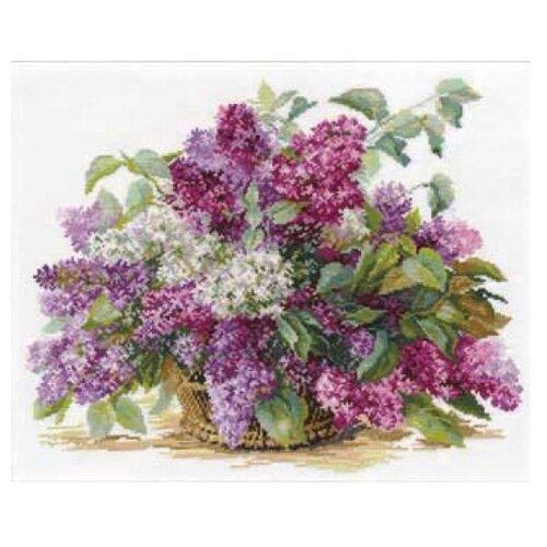 Купить Алиса Набор для вышивания крестиком Сирень 41 х 32 см (2-22), Наборы для вышивания