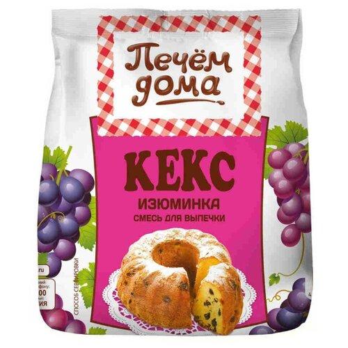 цена на Печём Дома Смесь для выпечки Кекс Изюминка, 0.4 кг