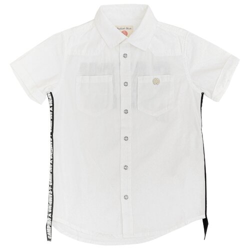 Купить Рубашка Button Blue размер 104, белый, Рубашки