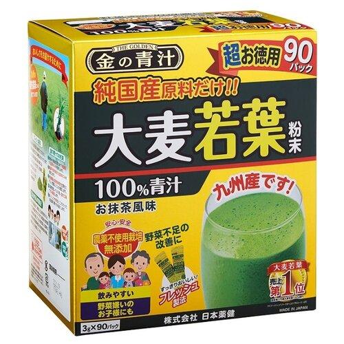 Смесь для напитка Nihon-yakken Аодзиру 100% сок ячменя 90 шт. по 3 г printio nihon