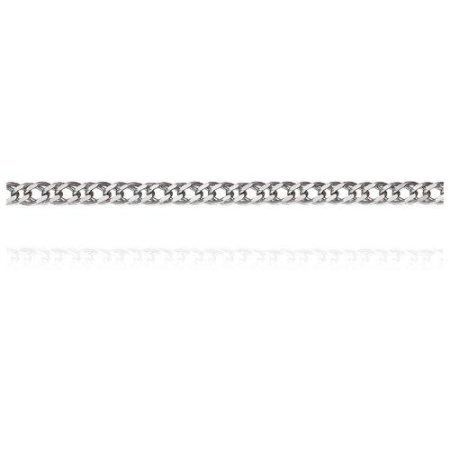 АДАМАС Цепь из белого золота плетения Ромб двойной ЦР230А2-А58, 50 см, 2.67 г
